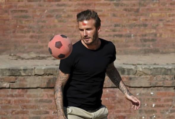 Penggodam ugut David Beckham, tuntut RM5.5 juta