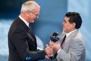 Maradona kecewa Messi gagal hadir di majlis Anugerah FIFA