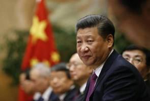 Datuk Seri Najib Tun Razak mengucapkan tahniah kepada rakan sejawatannya dari China, Xi Jinping atas pelantikan semula buat penggal kedua.