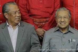 Terima kasih Tun Dr Mahathir atas jasa kepada negara - Muhyiddin Yassin