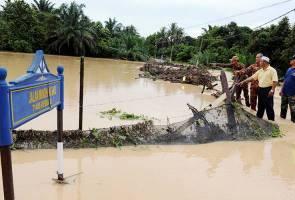 Penduduk di Rembau cemas, pertama kali kampung dilanda banjir