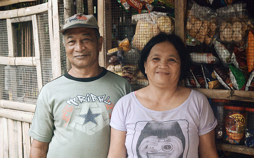 When Karim visited Efren in November 2016, he was running a sari-sari stall with his wife, Evelyn, from the front of their house. The store is now shuttered due to lack of funds. Karim Raslan Photo