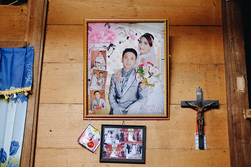 Fernando and Putri met in Bukit Kasih and have been married for five months. Karim Raslan Photo