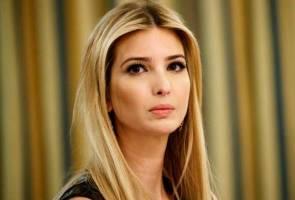 Ivanka Trump diejek kerana mempertahan ayahnya di persidangan wanita