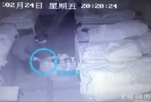 Pesakit mental bunuh tiga orang dengan penyepit makanan di hospital China