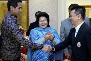 Peranan Rosmah dan Khairy selesai kemelut jawatan presiden BAM harus dipuji