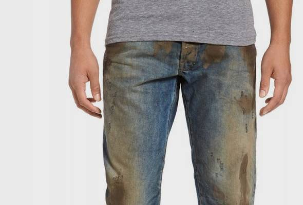 45f46dfac8 Nordstrom is selling jeans caked in fake dirt for hundreds of dollars