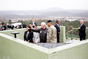 Pence stresses 'era of strategic patience' over as he visits Korean DMZ