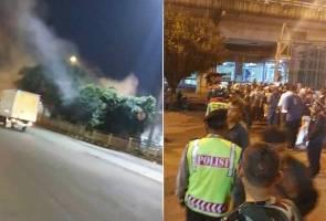 Lima maut dalam insiden letupan di Jakarta
