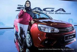 Proton Saga wins compact Sedan of the year award