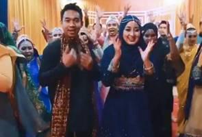 Cosmetics entrepreneur Bollywood theme henna night goes viral