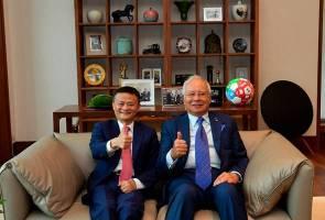 DFTZ mula beroperasi Oktober ini, guna platform iCloud Alibaba - PM Najib