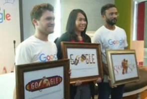 Google Malaysia anjur pertandingan Doodle 4 Google