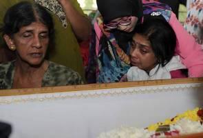 Jasad mangsa buli T. Nhaveen selamat disemadikan
