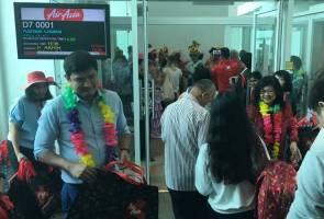 AirAsia X touches down in Honolulu, Hawaii
