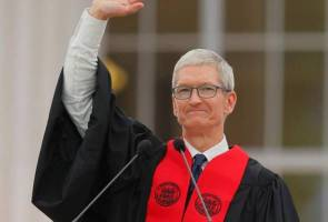 Apple's Cook tells MIT graduates - temper technology with humanity