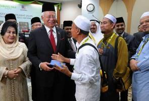 Pray for Malaysia to remain peaceful, Najib tells haj pilgrims