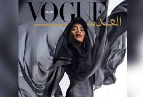 Pesona hijab Yuna dalam majalah 'Vogue Arabia'