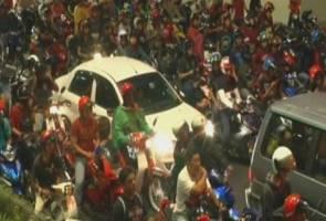 'Ibarat cacing kepanasan', ratusan 'mat motor' terkepung dalam Ops Tutup