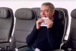 Mr Bean, Gillian Anderson bintangi video keselamatan British Airways