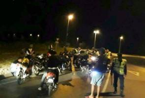 Op Khas Motosikal: Penjawat awam positif dadah antara ditahan