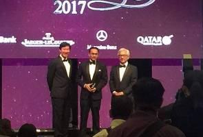 Astro bags 3 awards at The Edge Billion Ringgit Club 2017