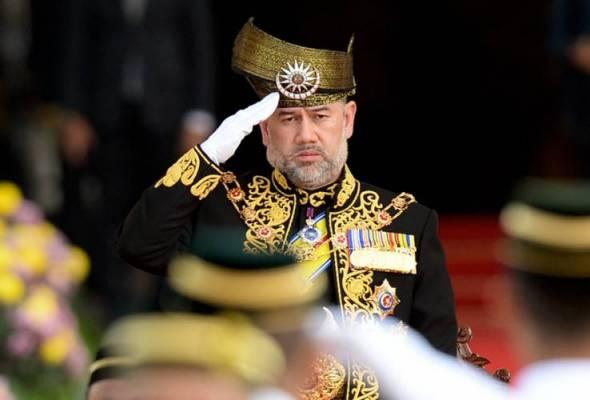 Sultan Muhammad V catat sejarah Yang di-Pertuan Agong pertama letak jawatan