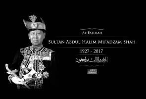 Sultan Kedah, Sultan Abdul Halim Mu'adzam Shah mangkat
