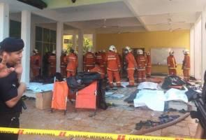 Tahfiz fire: Survivors escaped through broken windows