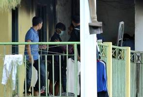 Tahfiz fire suspect brought to incident location