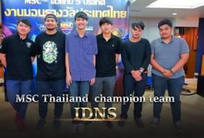 Mobile Legends: Thailand juara MSC 2017, bawa pulang RM213,000