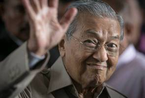 #MalaysiaMemilih: Tun M tak tolak kemungkinan jadi calon PM
