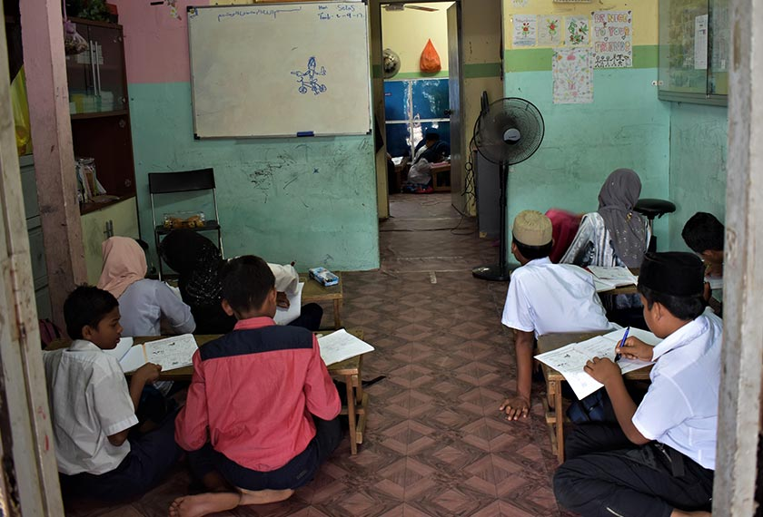 A total 103 Rohingya children attend the Darul Eslah Academy in Ampang. - Karim Raslan Photo