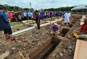 Tahfiz school fire: 11 victims laid to rest in Taman Batu Muda