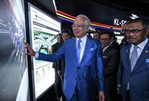 Stesen HSR KL-Singapura pintu masuk ke bandar moden Malaysia - Najib