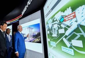 Najib unveils KL-SG HSR station concept designs
