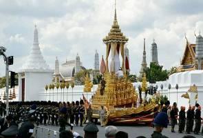 Raptai akhir upacara pembakaran mayat Raja Thailand