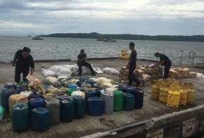 Dua warga asing ditahan seludup barang bersubsidi