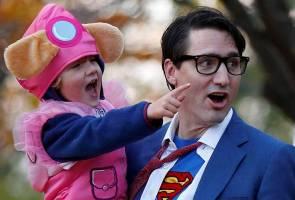 PM Kanada dedah identiti diri sebagai Superman