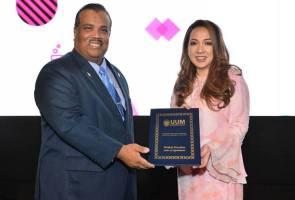 Astro's Rohana Rozhan appointed as UUM adjunct professor
