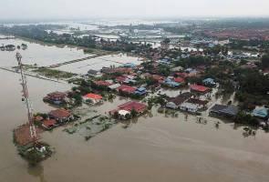 Fenomena Fujiwara punca banjir di Pulau Pinang
