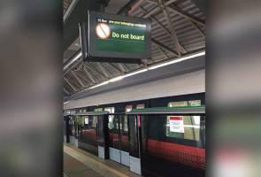 Tren MRT Singapura berlanggar, 23 cedera