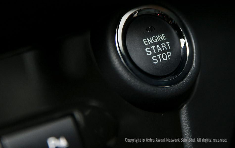Bahagian panel meter didalam Perodua MYVI baru    Pelancaran