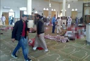 235 terbunuh, lebih 125 cedera serangan masjid di Mesir