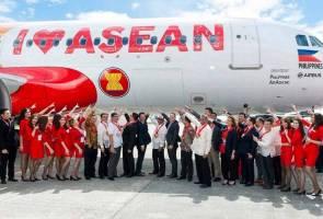 AirAsia perkenal rekaan pesawat baharu 'I Love ASEAN'