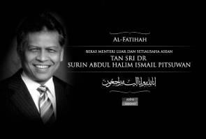 Belasungkawa: Tan Sri Dr Surin Pitsuwan