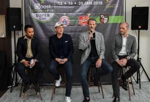 Piala Super kejohanan pertama di Stadium Nasional selepas diubah suai