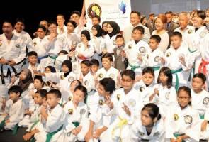60 kanak-kanak istimewa sertai kejohanan Taekwondo