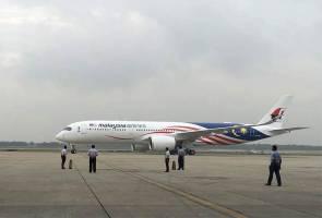 Pesawat kedua A350 XWB Malaysia Airlines selamat tiba