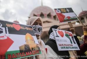 Himpunan Putih Solidariti Baitulmaqdis di Masjid Putra